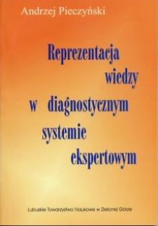 Reprezentacja wiedzy w diagnostycznym systemie ekspertowym
