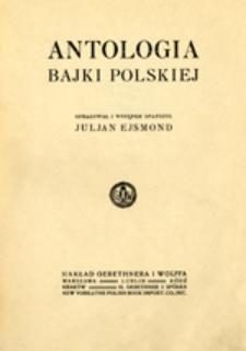 Antologia bajki polskiej
