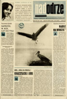 Nadodrze: dwutygodnik społeczno-kulturalny, nr 7 (26.III. - 8.IV.1972)