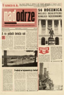 Nadodrze: dwutygodnik społeczno-kulturalny, nr 22 (4 - 17.XI.1973)
