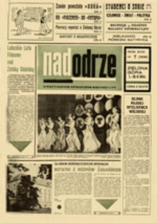 Nadodrze: dwutygodnik społeczno-kulturalny, nr 7 (7.-20.IV.1974)