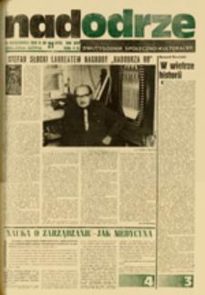 Nadodrze: dwutygodnik społeczno-kulturalny, nr 21 (12 października 1980 R.)