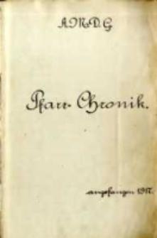 Pfarr - Chronik