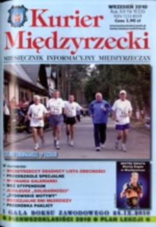 Kurier Międzyrzecki. Miesięcznik Informacyjny Międzyrzeczan, nr 9 (wrzesień 2010 r.)