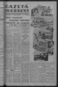Gazeta Lubuska : organ Komitetu Wojewódzkiego Polskiej Zjednoczonej Partii Robotniczej R. III Nr 144 (26 maja 1950). - Wyd. ABCDEFG