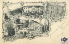Cybinka / Ziebingen; Gruss aus Ziebingen