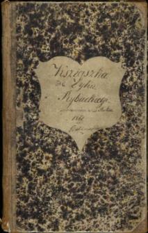 Ksziąszka Zyhu Rybackiego sprawiona w Roku 1861 w Babimoście