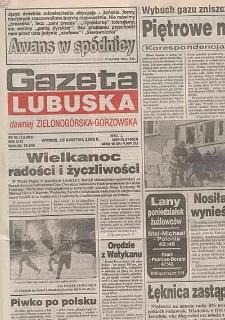 Gazeta Lubuska : dawniej Zielonogórska-Gorzowska R. XLIII [właśc. XLIV], nr 10 (12 stycznia 1995). - Wyd. 1