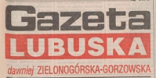 Gazeta Lubuska : dawniej Zielonogórska-Gorzowska R. XLIII [właśc. XLIV], nr 46 (23 lutego 1995). - Wyd. 1