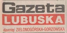 Gazeta Lubuska : dawniej Zielonogórska-Gorzowska R. XLIII [właśc. XLIV], nr 233 (6 października 1995). - Wyd. 1