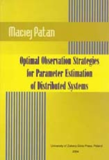 Optimal Observation Strategies for Parameter Estimation of Distributed Systems