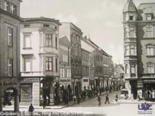 Zielona Góra / Grünberg; Am Ring, Obertorstraße; róg ul. Sobieskiego i ul. Pod Filarami